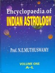 Encyclopaedia of Indian Astrology ( 2 Vol Set) by Prof. N.E. Muthuswamy [CBH]