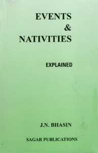 Events and Nativities Explained by J.N. Bhasin | Astrology Book
