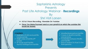 Webinar Recordings - Past Life Astrology By Visti Larsen [SA]