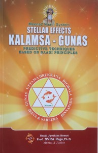 Meena naadi sytem stellar effects kalamsa gunas predictive techniques based on naadi principles [NVRA]