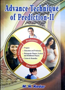 Advance Technique of Prediction II By M.N Kedar