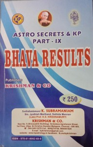 BHAVA RESULTS