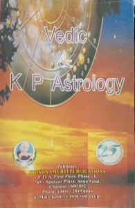 VEDIC AND K. P ASTROLOGY