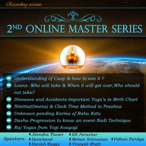 [RECORDED] Saptarishis 2nd Online Master Series