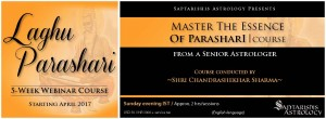 Webinar Recordings:  A Course In Laghu Parasari  [5 Months] - The Ancient Classic Considered The Gita Of Astrology [SA]