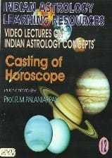 Casting Of Horoscope by Prof. R.M. Palaniappan [DVD] [SA]