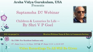 Webinar: Saptamsha [D7] By VP Goel at AVG, USA [SA]