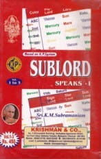 Sub Lord Speaks: Vol 1 to 3 by K.M. Subramanian [KP]