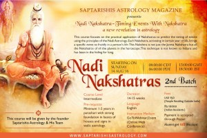 (Recorded) Nadi Nakshatra Online Course - 2nd Batch [SA]