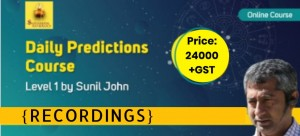 {Recordings} Daily Prediction Course (Level - 1)