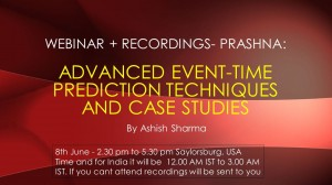 Webinar - Prashna: Advanced Event - Time Prediction Techniques and Case Studies [SA]