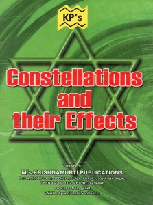 Constellations And Their Effects by Krishnanurti Publication [KP]