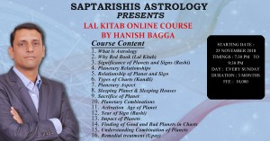 Recording: LAL KITAB BASIC COURSE BY HANISH BAGGA [SA]