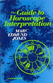 The Guid To Horoscope Interetation By Marc Edmund Jones [MiscP]